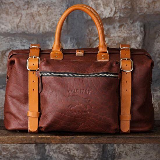 Roamographer   An American Bison Leather Camera Bag 6